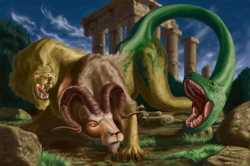chimera,greci,mitologia,miti,leggende,bestie,creature,creature mitologiache,bestie antiche,creature strane,creature mitiche,creature leggendarie