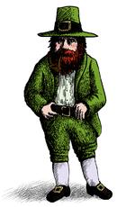irlandesi,irlanda,mitologia,mitologia irlandese,gnomo,gnomo dell'arcobaleno,gnomo del bosco,gno del canto.
