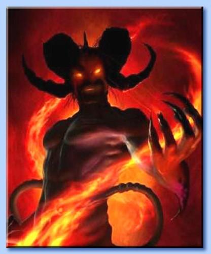 demoni,leggende,miti,oscurità essenze maligne,mitologia,satana,diavolo,inferno,male.